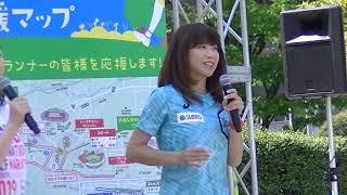 仙台国際ハーフマラソン大会の高橋尚子トークショーの様子です。 先日、...