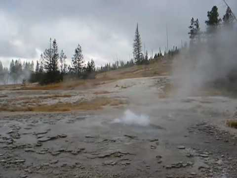 Rustic Geyser, Yellowstone National Park