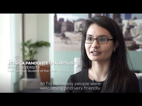 Student Story: Jessica from Mauritius, finalist in the Victorian International Education Awards