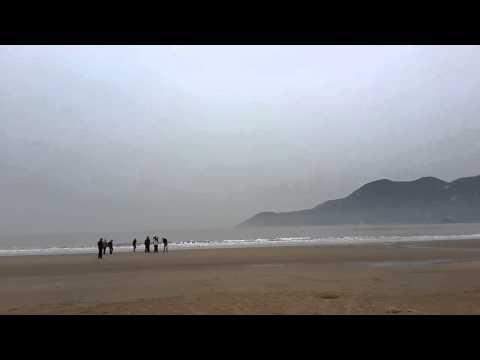 Beautiful beach of China - Hangzhou, China