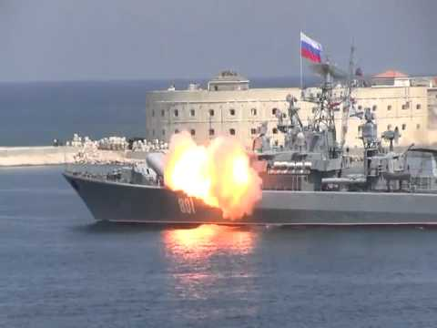 Big Fail for Russian Navy Launching Missile in Sebastopol Harbour