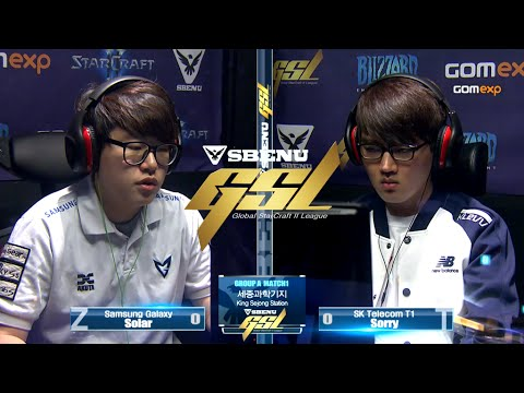 Solar vs Sorry ZvT Code S Ro32 Group A Match 1, 2015 SBENU GSL Season 2 StarCraft 2
