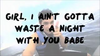 Austin Mahone - Red Lights ft. Chris Brown (Lyric Video)