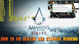 HOW TO FIX THE ASSASSIN