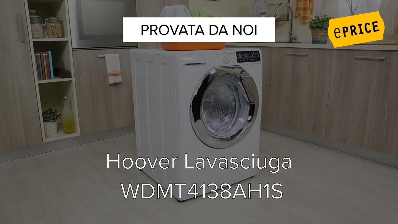 Video Recensione Lavasciuga Hoover WDMT4138AH1S