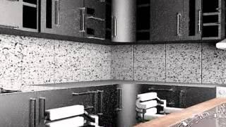 кафельная плитка, фасады, стол и стулья, распологающий дизайн кухни(Кухня - фасады кухни. Хорошо смотрится кухня с фасадами на котором много различных деталей. Некоторые фасад..., 2014-07-05T13:23:11.000Z)