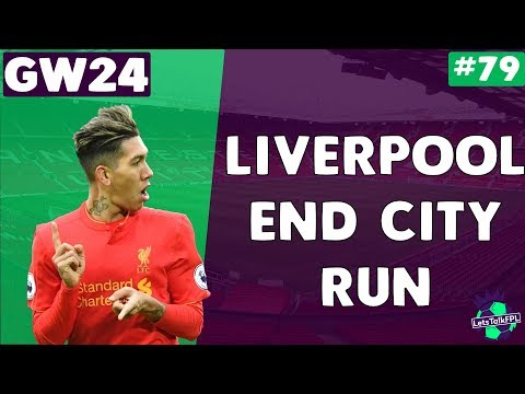 LIVERPOOL END CITY RUN | Gameweek 24 | Let's Talk Fantasy Pr