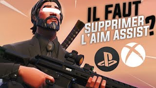 The HELP TO THE VISER is TROP ABUS on Fortnite, the Suprimer? (Aim Assist)