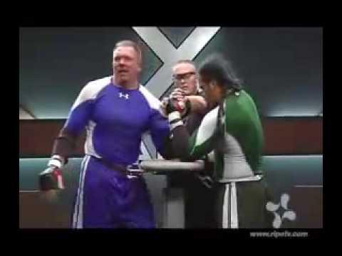 X ARM  Rick Vardell vs Bond Laupua