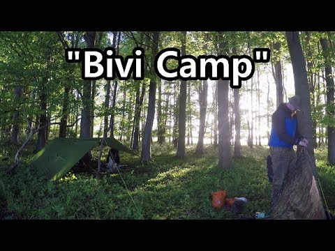 Bivi Camp With Mark, The Wye Explorer
