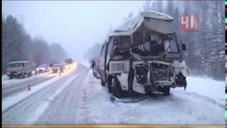 Страшная авария на Режевском тракте