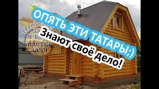 видео Проекты бань из бревна