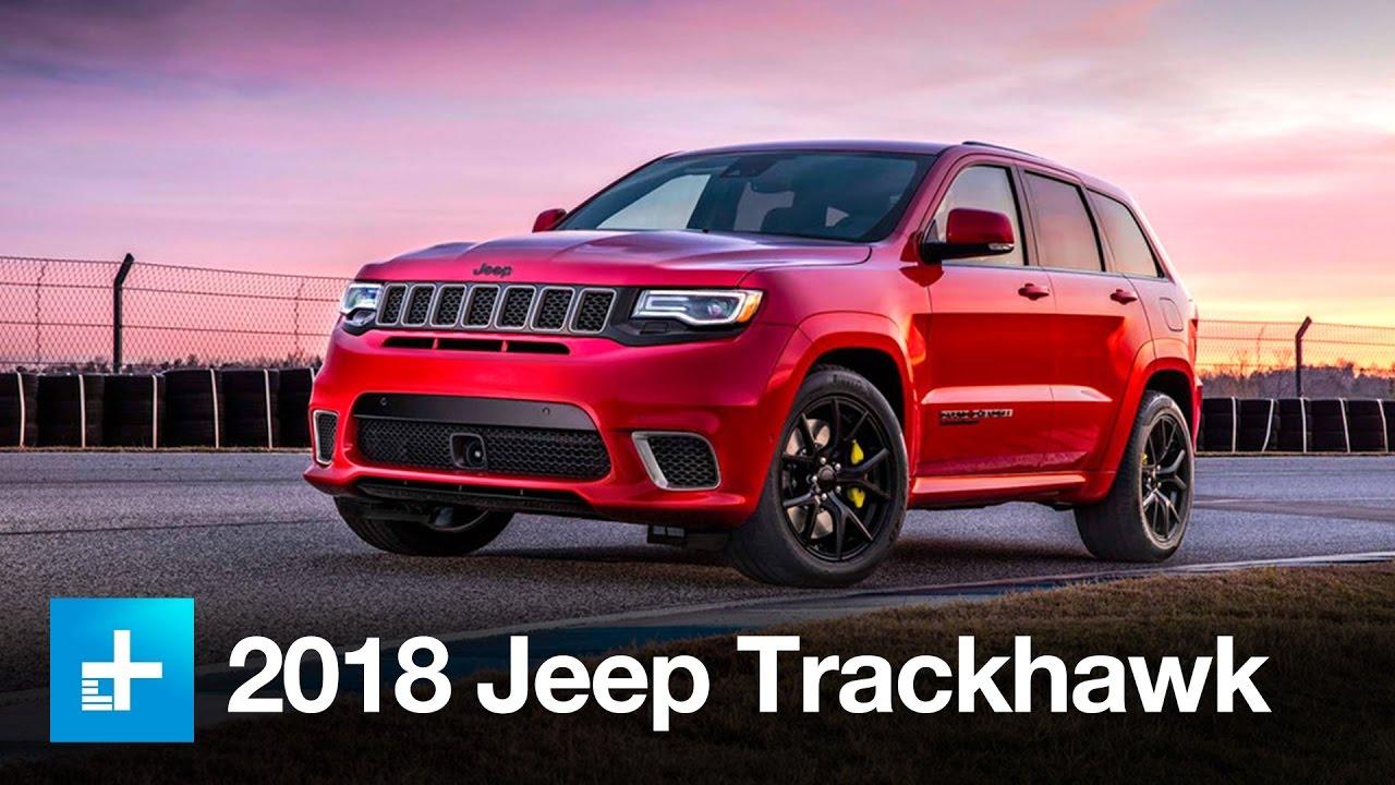 2018 Jeep Grand Cherokee Trackhawk- New York Auto Show