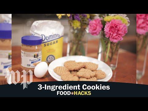 3-Ingredient Cookies | Mary Beth Albright's Food Hacks
