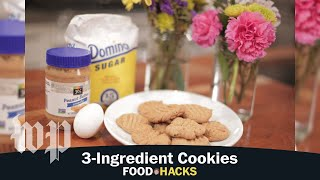 3-Ingredient Cookies | Mary Beth Albright's Food Hacks
