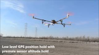 testing position hold with multiwii pro flight controller and ublox 6m gps