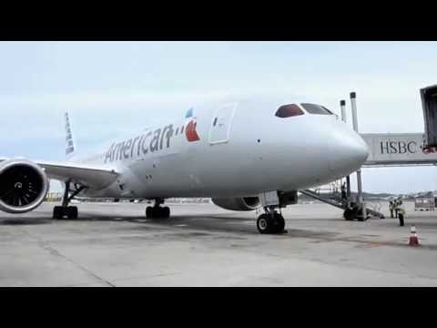 Tour pelo Boeing 787 Dreamliner da American Airlines