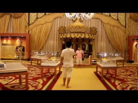 Inside Royal Palace of Malaysia