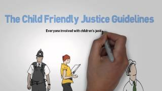 Child friendly justice introduction animation