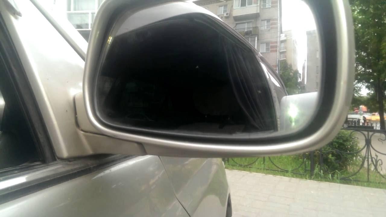 как разобрать зеркало заднего вида toyota rav4