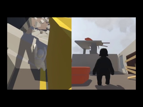 Human fall flat  - Coop mode funny moments (Part #3)