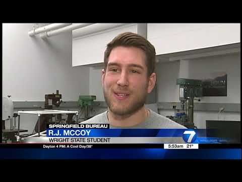 WHIO: Wright State student is helping with a big project at Navistar
