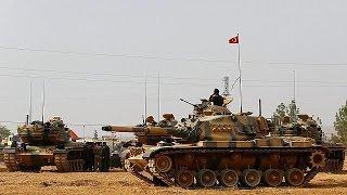 فيديو.. الفصائل السورية تبدأ هجومها على دابق واردوغان يستعد لدخول الموصل