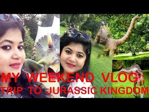 JURASSIC KINGDOM TOUR AT GLASGOW UK | WEEKEND VLOG
