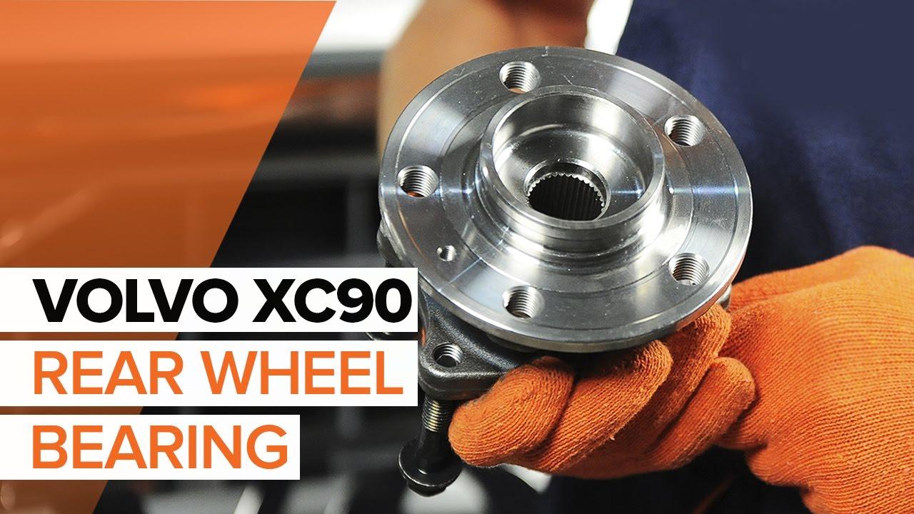 V70 XC70 2006-ON REAR WHEEL BEARING HUB S80 MK2 ABS FOR A VOLVO S60 II V60
