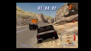 Gumball 3000 PS2 Gameplay (SCI / Climax / Fuel) Playstation 2 [2002]
