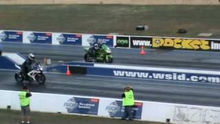 zx12r vs gsxr wsid bikes drag racing