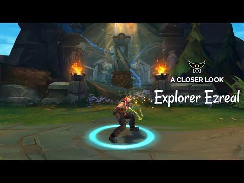 Explorer Ezreal Legacy Skin