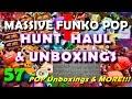 Massive Funko POP Hunt & Haul Unboxing Video :: 57 POPS!!! :: Funko POP Collection Additions