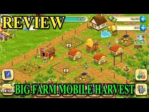Big Farm Mobile Harvest| Review Game Nông Trại Vui Vẻ | Văn Hóng GM