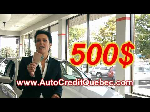 Auto Credit Quebec - Courtier de finance automobile, avec approbation garantie ou $500
