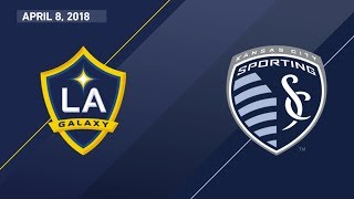 HIGHLIGHTS: LA Galaxy vs. Sporting Kansas City | April 8, 2018