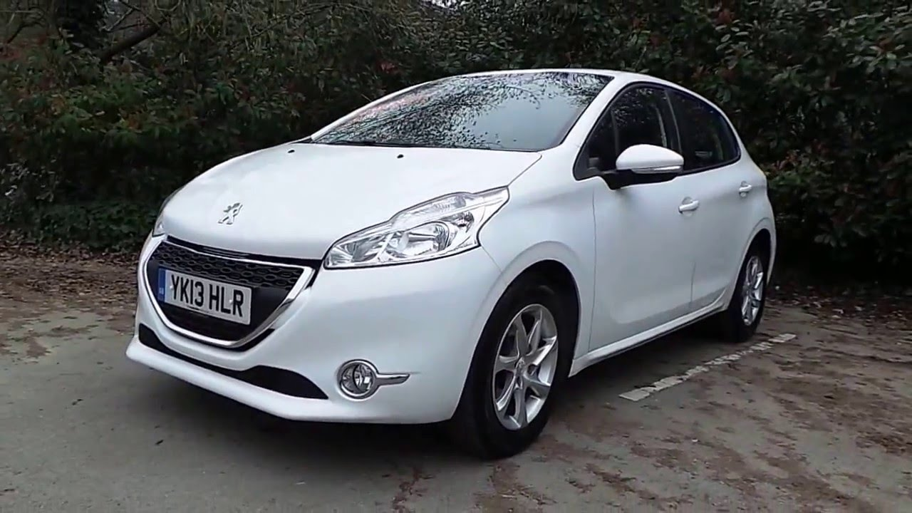 2013 13 peugeot 208 1.2 vti active 5dr in white - youtube