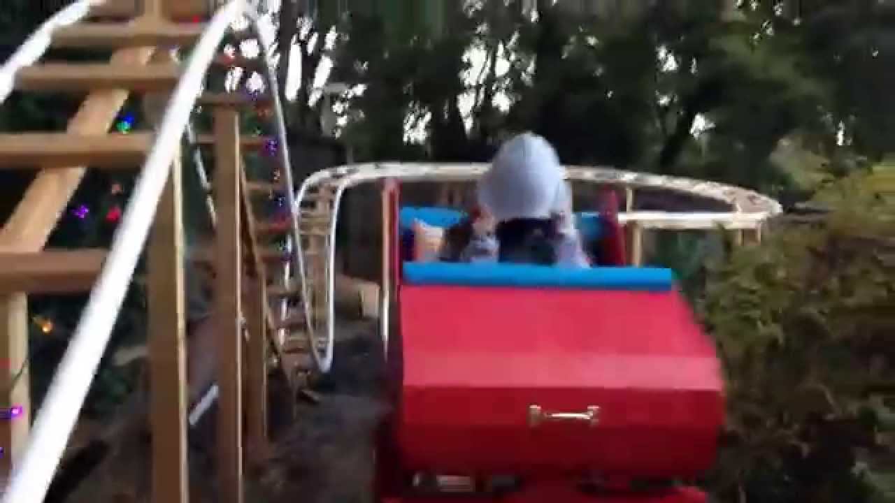 backyard roller coaster engineering update youtube