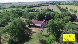 SOLD! 160 Acres in Sumner County, Kansas Farm Headquarters For Sale By Auction