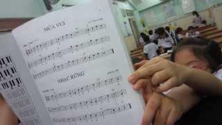 Organ Thiếu Nhi - Múa Vui - Bé Ánh Huyền