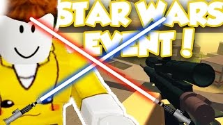 PHANTOM FORCES STAR WARS ROGUE ONE EVENT!! / Roblox Adventures