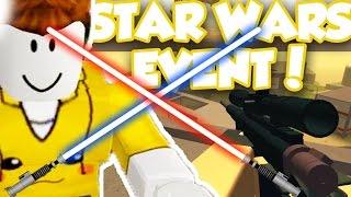 PHANTOM FORCES STAR WARS ROGUE ONE EVENT!! / Aventuras roblox