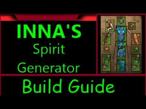 Diablo 3 Season 10 Inna's Mantra Spirit Generator Build Guide
