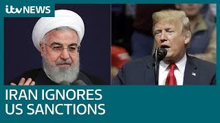 Iran President Hassan Rouhani says nation faces 'war situation' with US | ITV News