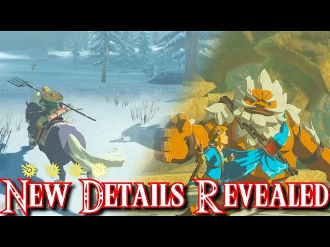 Dungeons, Link's Family, Paper Zelda, Switch Development Process - Zelda Breath of the Wild News