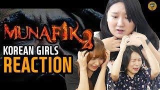 Korean girls watched trailer of Munafik 2!!!