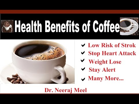 Health Benefit of Drinking Coffee