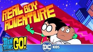 Teen Titans Go! En Español | Aventuras de Chicos Verdaderos | DC Kids
