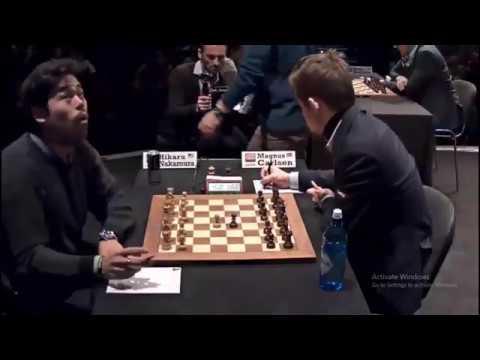 SCOTCH OPENING!! Hikaru Nakamura Vs Magnus Carlsen    London Chess Classic 2017 – R6