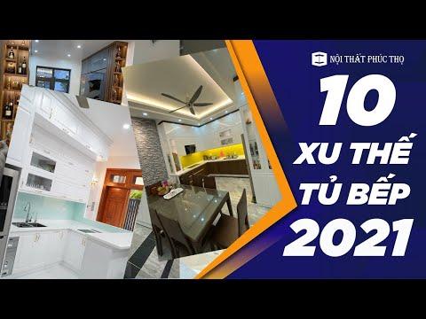 10 Xu Thế Thiết Kế Thi Công Tủ Bếp Năm 2021, Bạn Đã Biết?